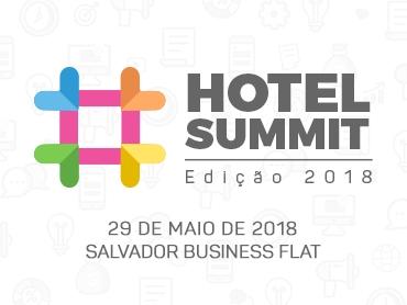 ABIH Bahia apoia o Hotel Summit 2018