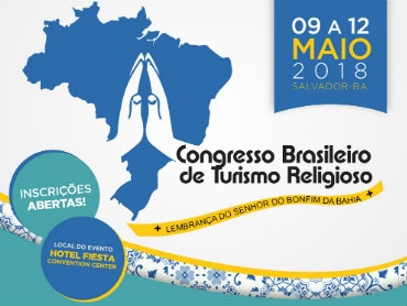Congresso Brasileiro de Turismo Religioso tem apoio da ABIH Bahia