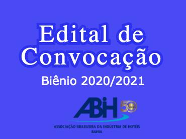Edital de Convocação - Biênio 2020/2021