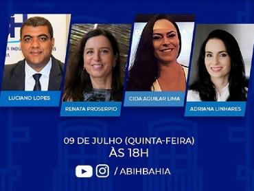 Live da ABIH Bahia sobre o novo Protocolo de Sanitização para a Hotelaria
