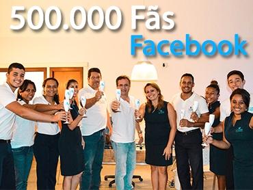 Resort da Costa do Descobrimento atinge a marca de meio milhão de seguidores no Facebook