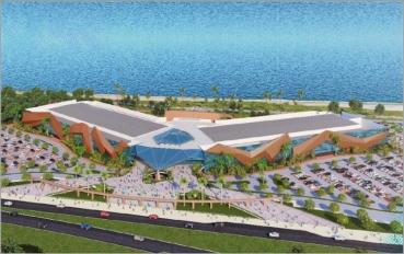 Salvador terá novo Centro de Convenções na Orla de Salvador para 14 mil pessoas